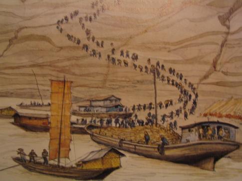 Au bord du Yang Tsekiang