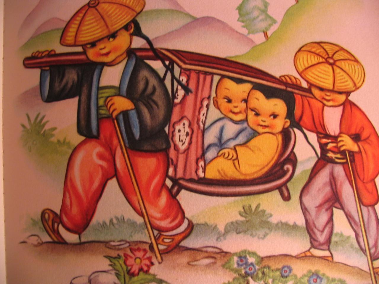 De joyeux petits chinois
