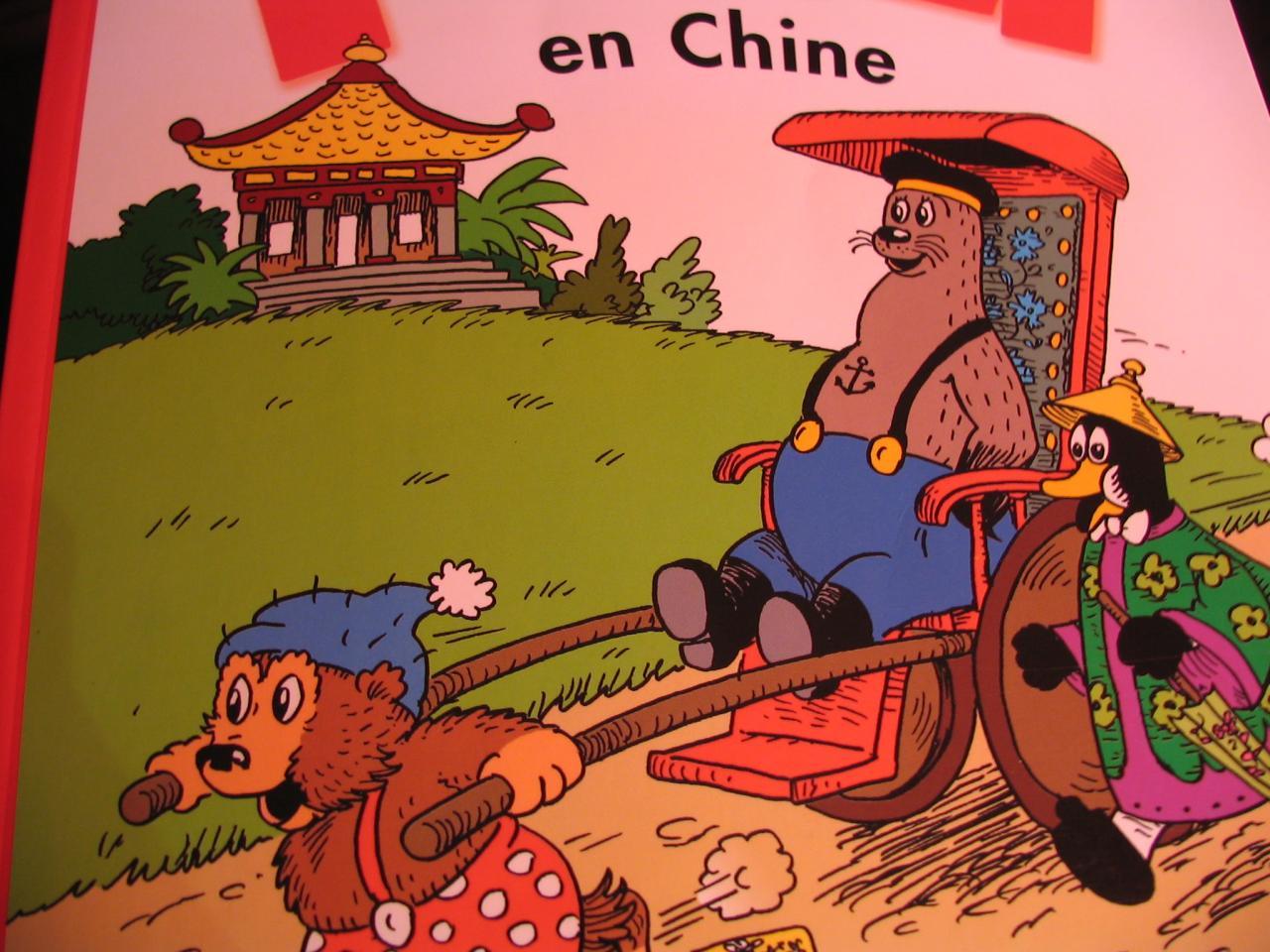 Petzi en Chine