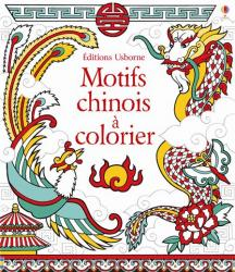 Chinese patterns to colour cover f