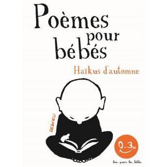 poèmes pour bébés